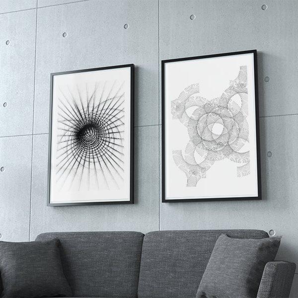 Motivpaket fraktal fine art
