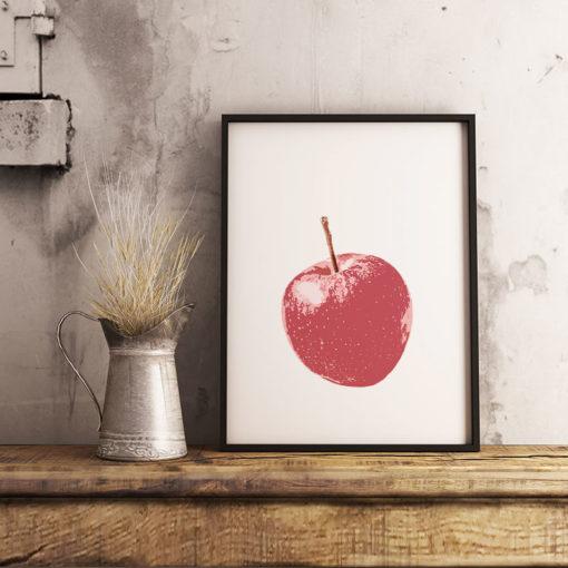 Äpplet poster fine art