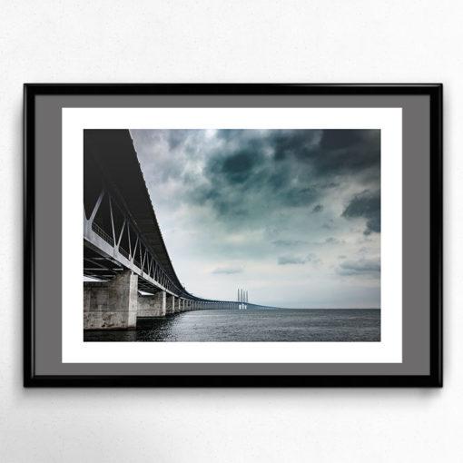 Öresundsbron poster fine art