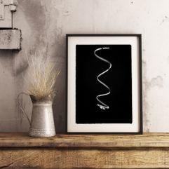 poster spiral abstrakt