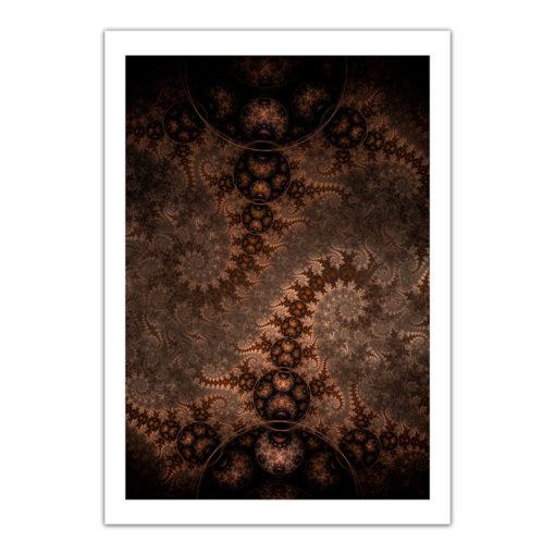 fractal fine art poster