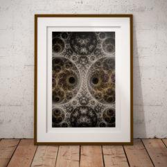 fraktal fine art poster