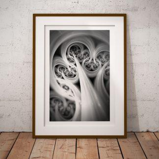 organisk fine art fraktal poster