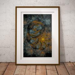 fraktal poster fine art