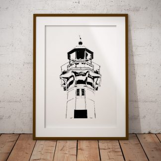 lighthouse poster fine art fyr