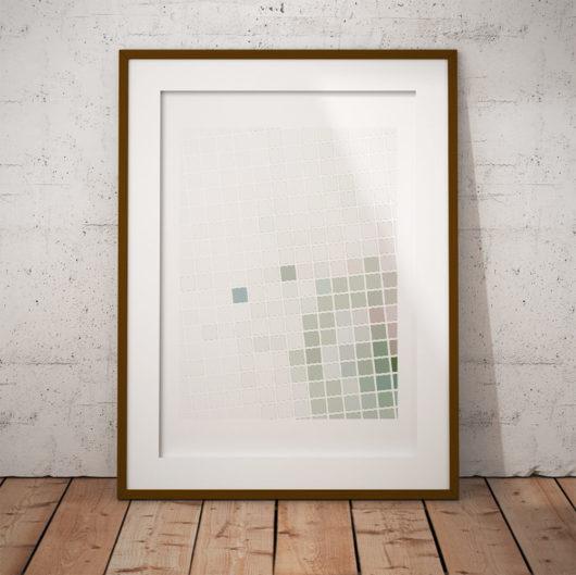 rutor fraktal fine art poster