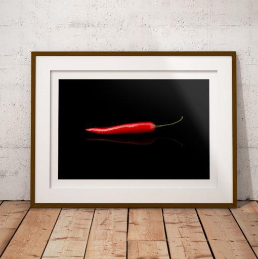 capsicum annuum chili poster