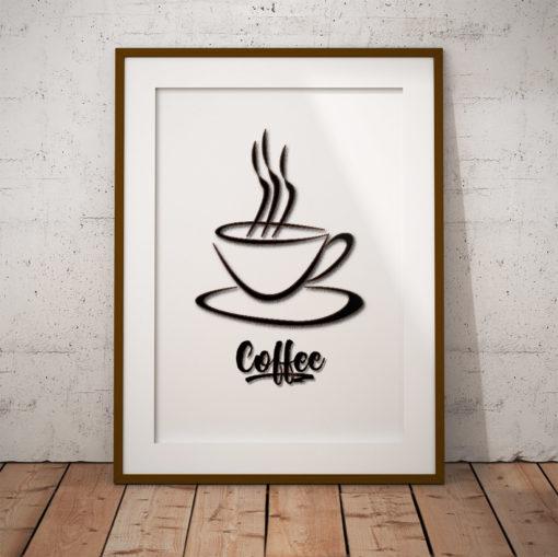 coffee kaffe fine art poster