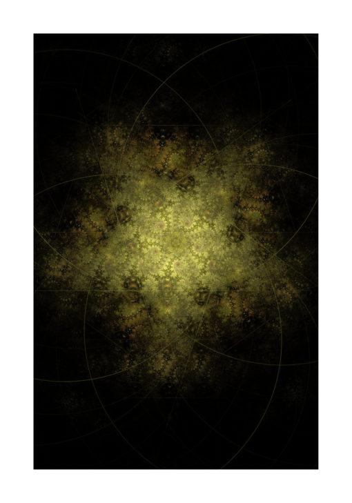 fractal fraktal poster fine art