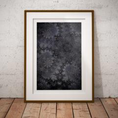 fractal fraktal fine art poster
