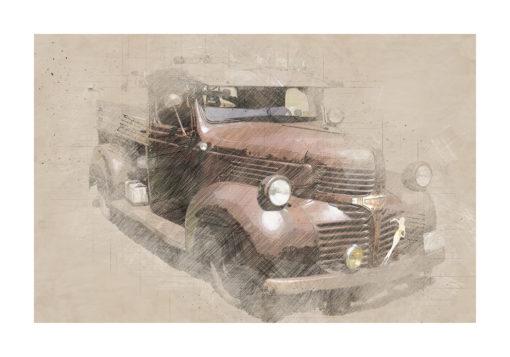 dodge bil poster