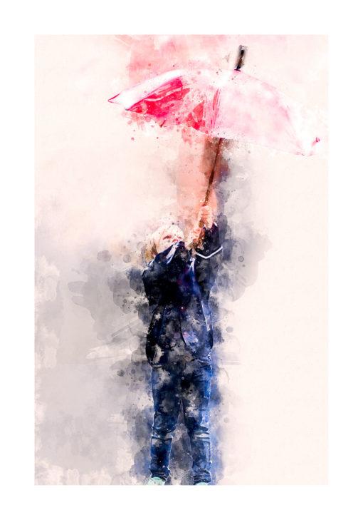 paraplyet poster
