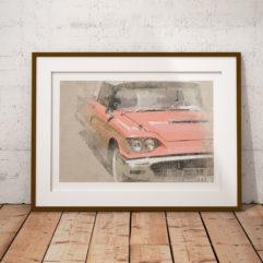 Ford Thunderbird -59 poster