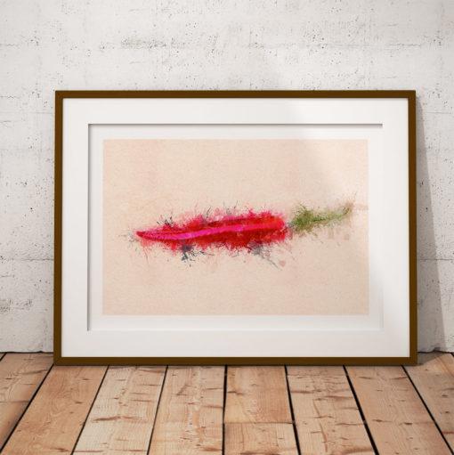 cayenne chili poster