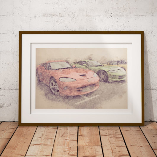 Dodge Viper Poster