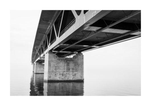 brofästet öresundsbron poster