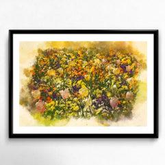 kungsparken malmö blommor poster