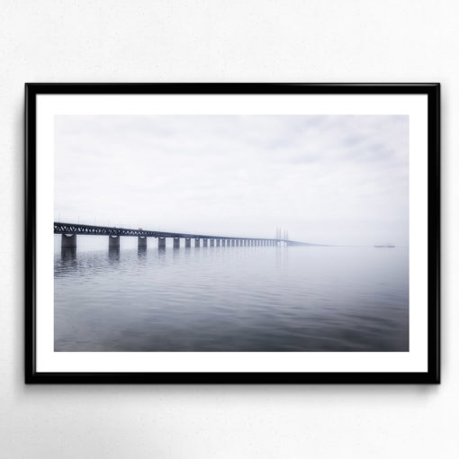 lugnt hav öresundsbron poster