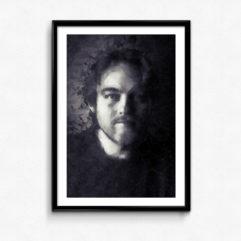 porträtt poster svartvit