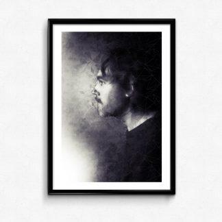 porträttet poster