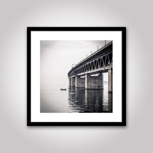 Fiskaren öresundsbron poster