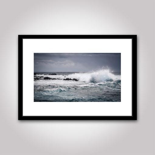 vågen våg vatten hav poster