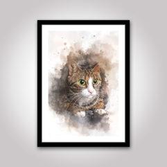 katten katt poster