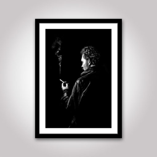 noir cigarett rök poster