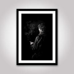 noir poster cigarett