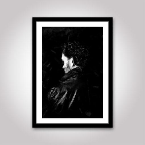 Noir porträtt poster