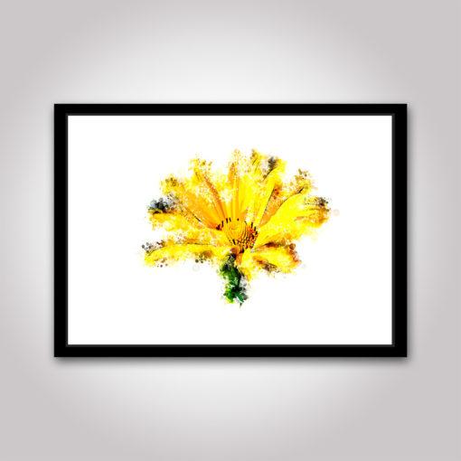 sommar blomma poster