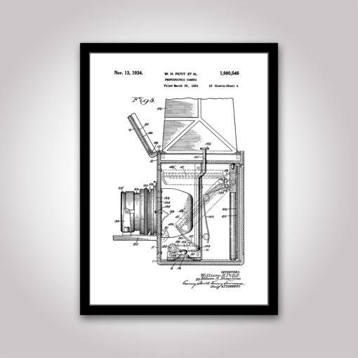 Photographic Camera patent poster