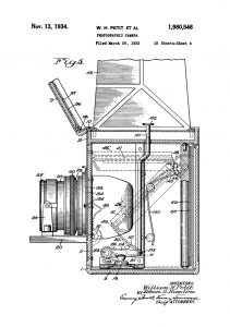 Photographic Camera patent poster