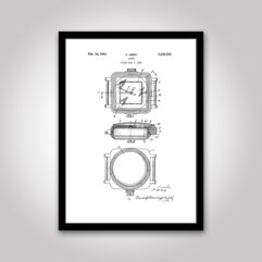 rolex patent poster