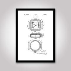 rolex patent poster