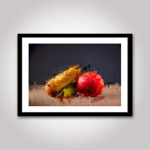 poster: päron & äpple