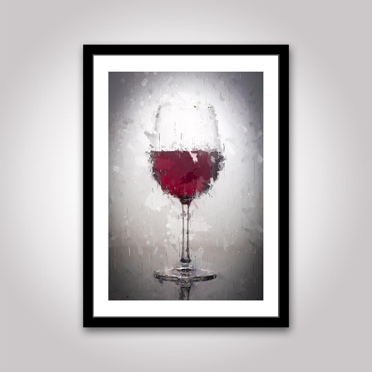 Poster: Ett Glas Rött