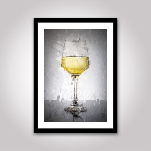 Poster: Ett Glas Vitt